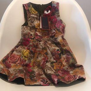 Paul smith junior rose dress sz 4T